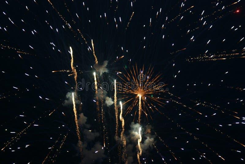 sztuczne ognie Lipowie 4. fotografia royalty free