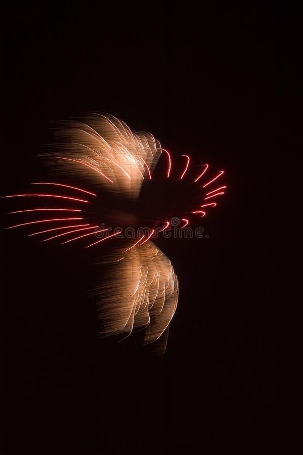 sztuczne ognie ogniska zdjęcia royalty free