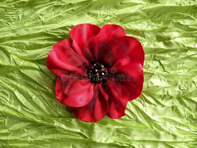 Sztuczny tkanina kwiat obraz royalty free