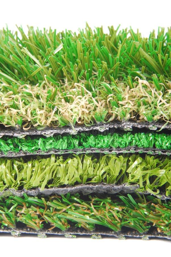 Sztuczny trawy astroturf zdjęcie royalty free