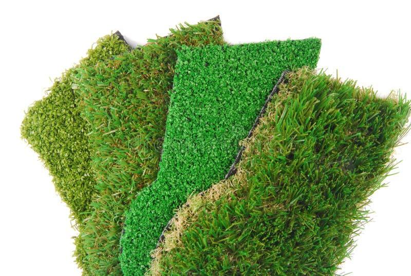 Sztuczny trawy astroturf zdjęcia stock