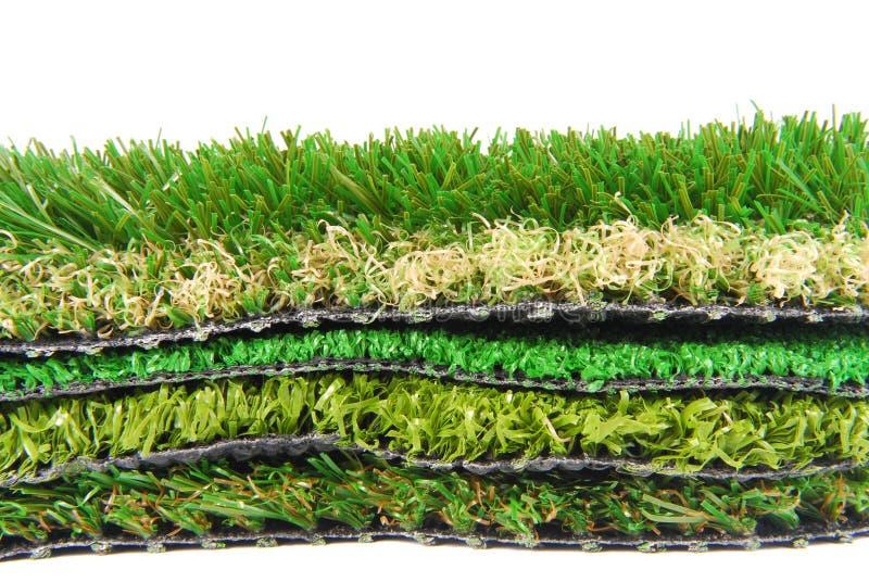 Sztuczny trawy astroturf fotografia royalty free