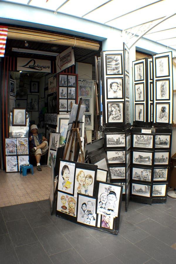 sztuk środkowy Kuala Lumpur malezyjczyka rynek obrazy royalty free