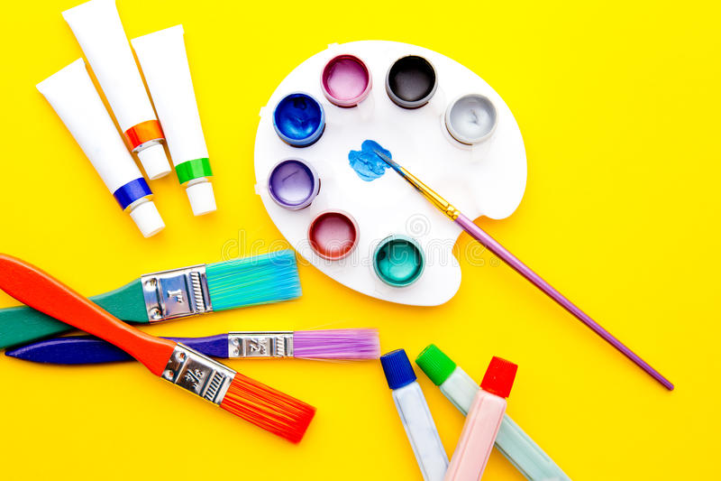 Sztuk dostawy - wyposażenie obraz stock