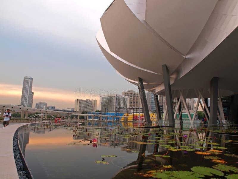 sztuk muzealny nauki singapre obrazy stock
