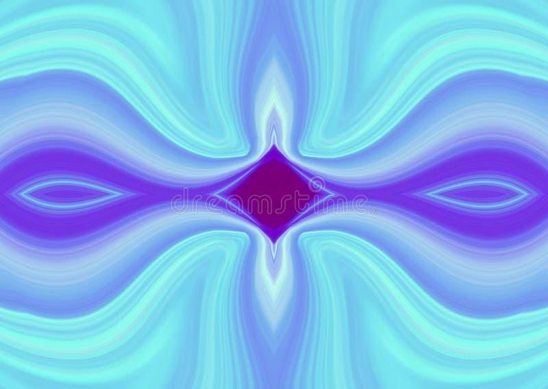 Sztuk tło abstrakcjonistyczne linie błękitne obrazy royalty free