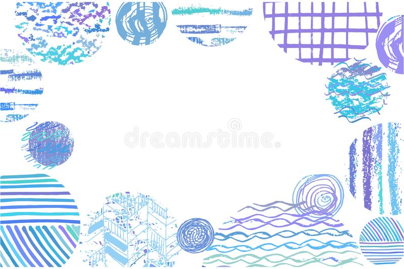 Sztuka background3 royalty ilustracja