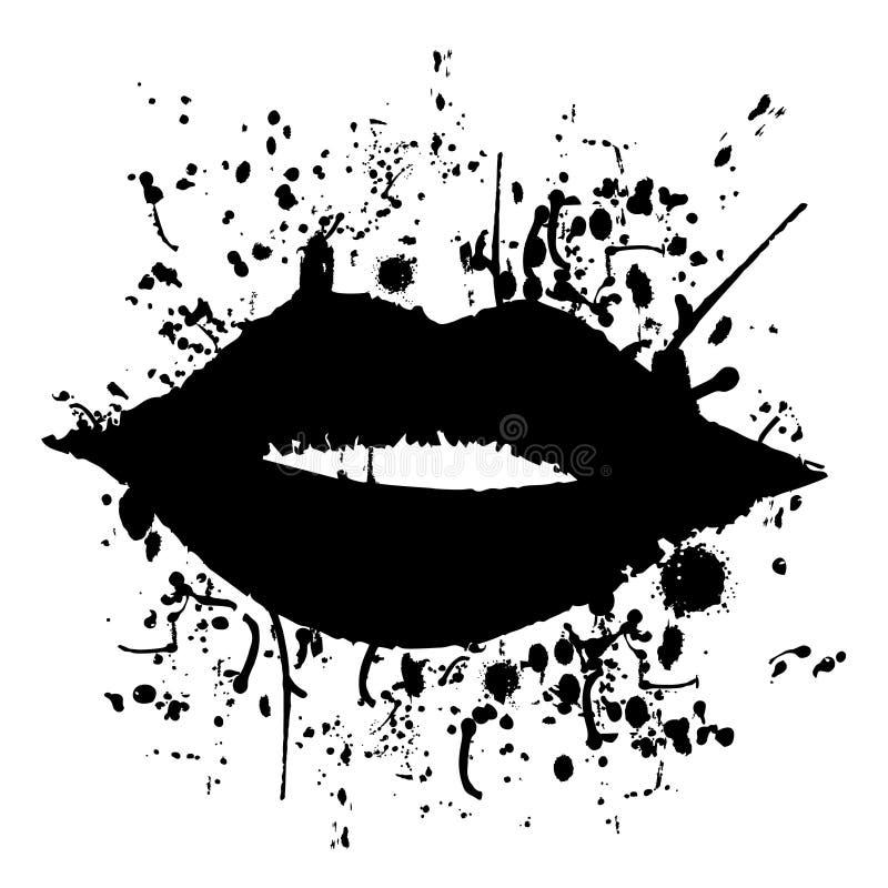 sztuka buziak royalty ilustracja