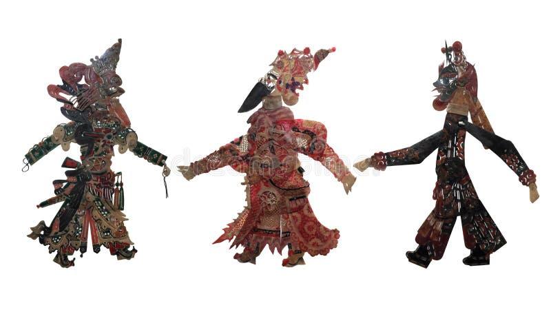 sztuka chiński cień zdjęcia stock