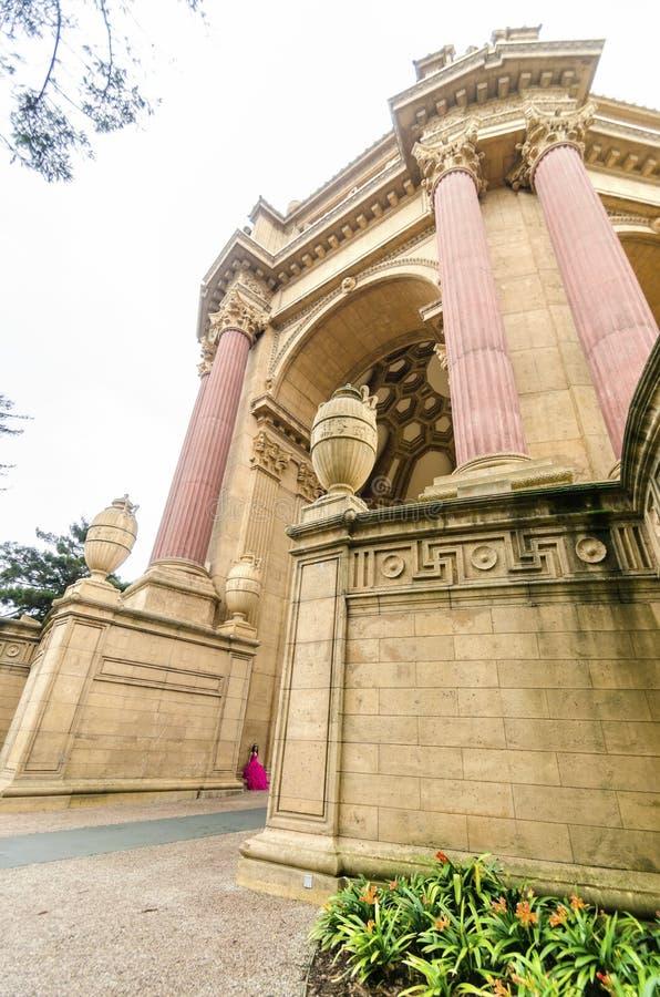 sztuka dobrze pałacu San Francisco zdjęcie royalty free