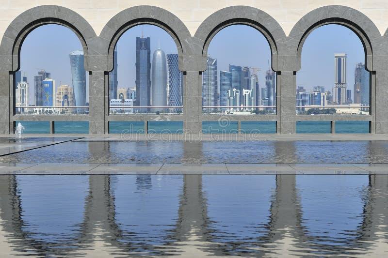 sztuka Doha islamski muzealny Qatar zdjęcie stock