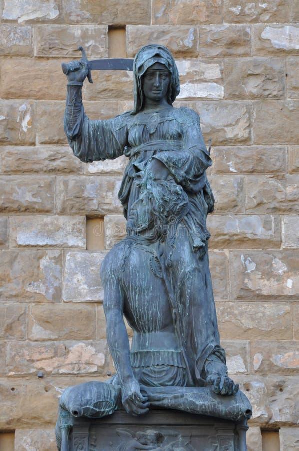 Sztuka Florencja Judith obraz royalty free