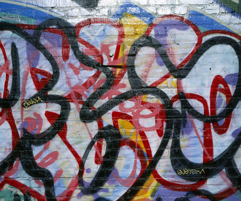 sztuka graffiti zdjęcie royalty free