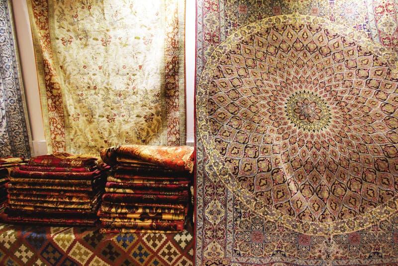 Sztuka i rękodzieło Perscy dywany zdjęcia royalty free