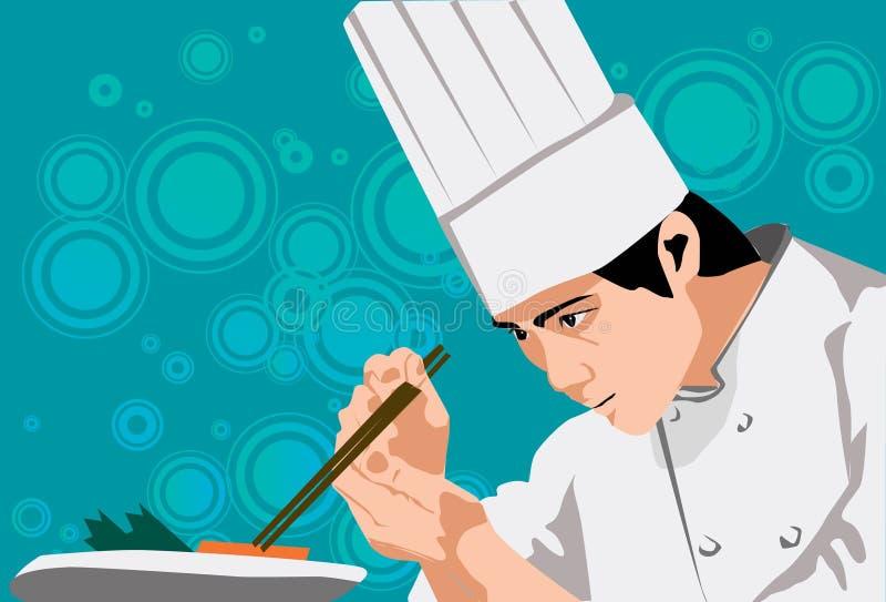 sztuka kulinarna ilustracja wektor