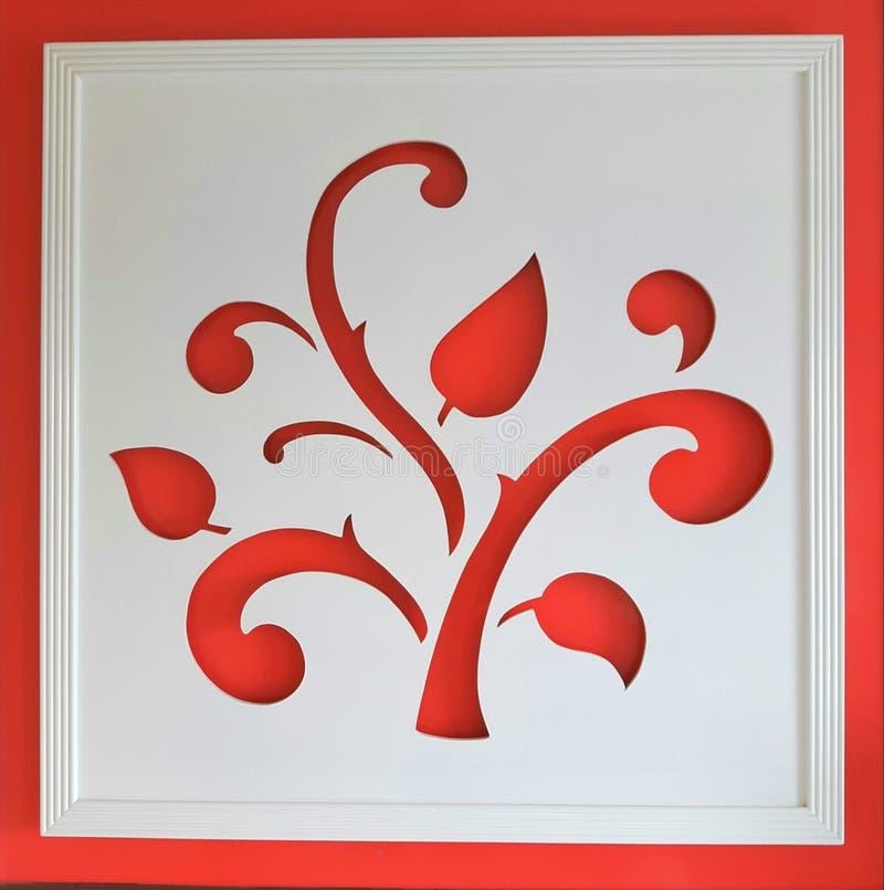Sztuka liście zdjęcie stock