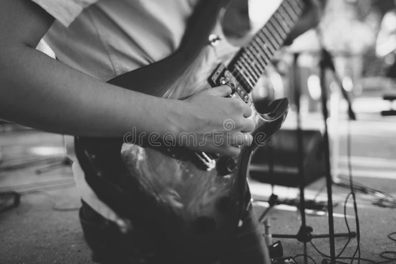 Sztuka na gitarze zdjęcie royalty free