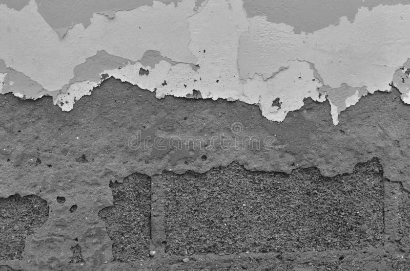 Sztuka obrani kolory i beton na ścianie obraz stock
