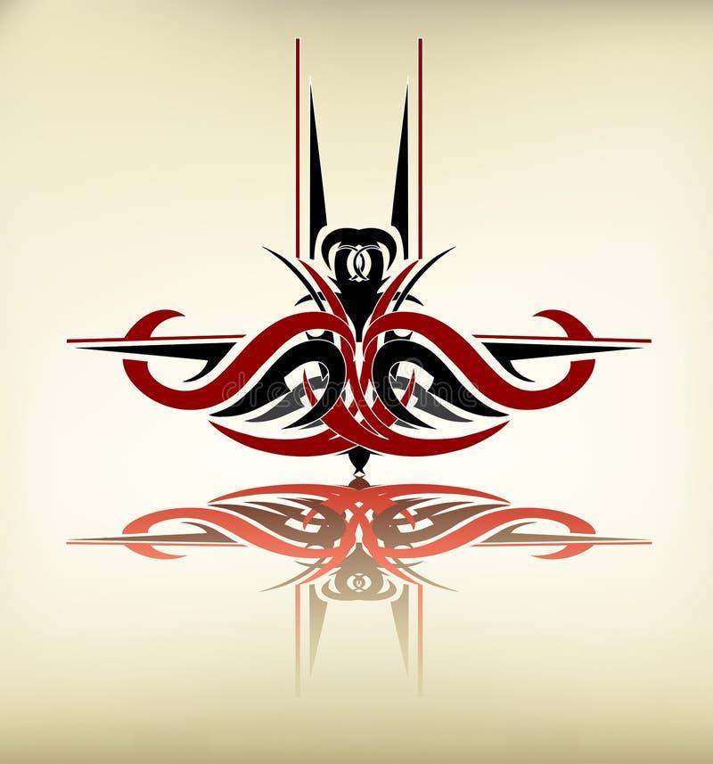 sztuka plemienna ilustracji