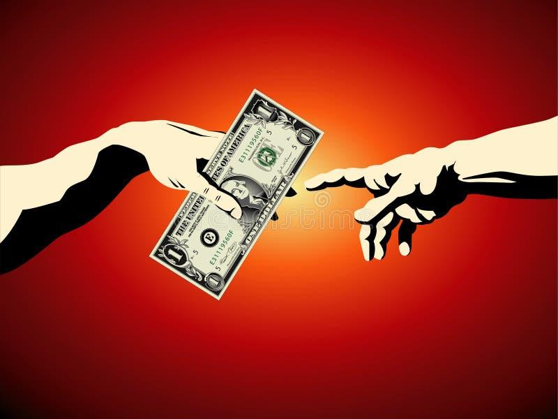 sztuka rachunku dolar sławny nas royalty ilustracja