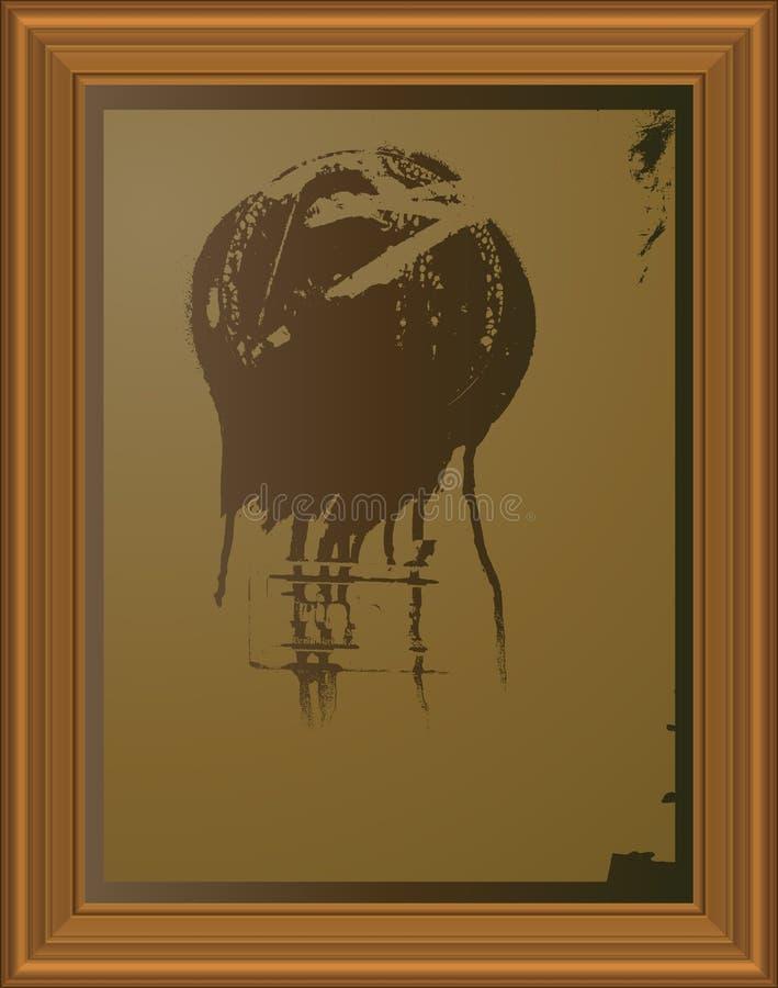 sztuka ramowy obraz matrycuje ilustracja wektor
