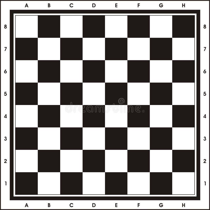 sztuka szachowy odcisk zarządu ilustracji