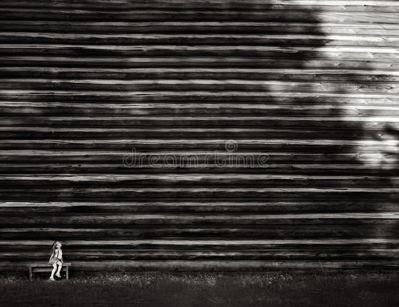 Sztuka Z cieniami zdjęcie stock