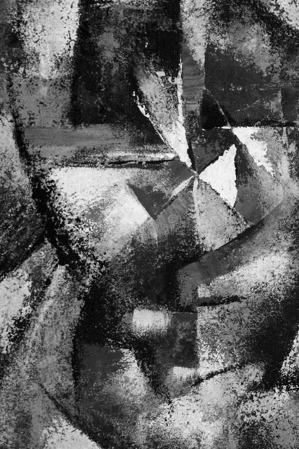 sztuki abstrakcjonistycznej tło royalty ilustracja