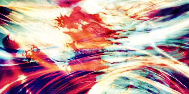 sztuki abstrakcjonistycznej tło ilustracja wektor
