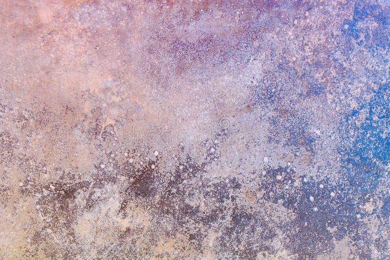 sztuki abstrakcjonistycznej t?o Obraz olejny na kanwie Kolor tekstura Czerep grafika Punkty nafciana farba Brushstrokes farba Mo fotografia royalty free