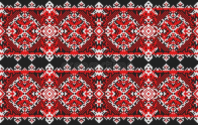 sztuki ceramiczny ludowy ornamentu garncarstwa ukrainian Tradycyjny obywatel ilustracja wektor