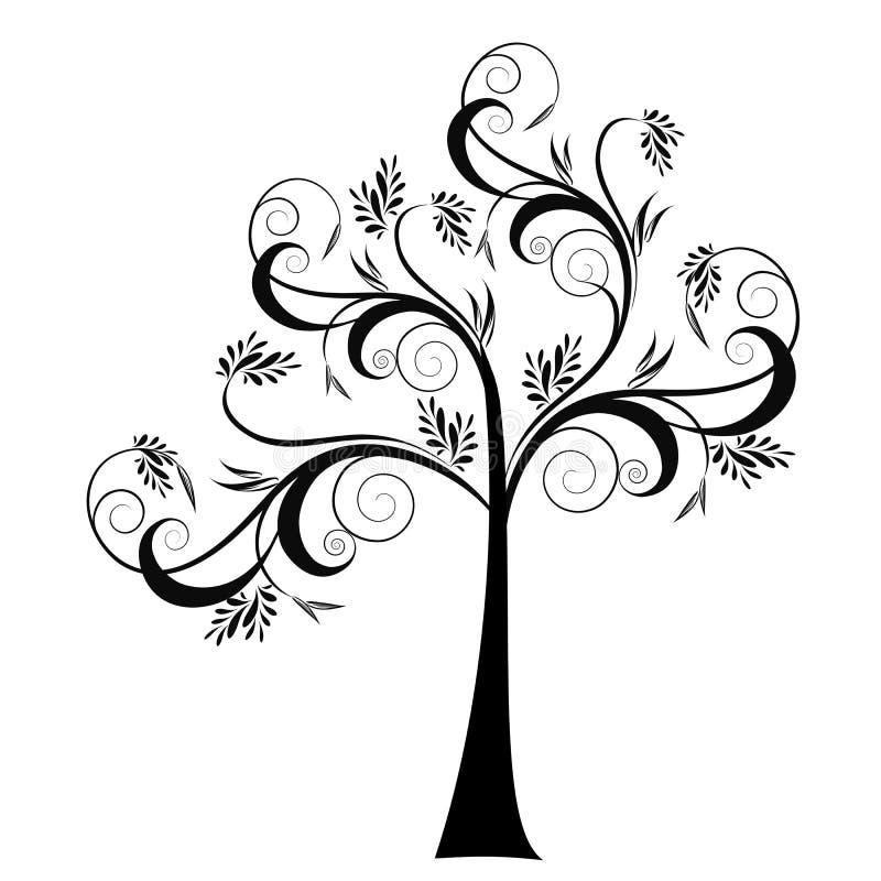 Sztuki Drzewo ilustracji