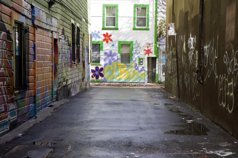 sztuki graffiti ulica fotografia stock