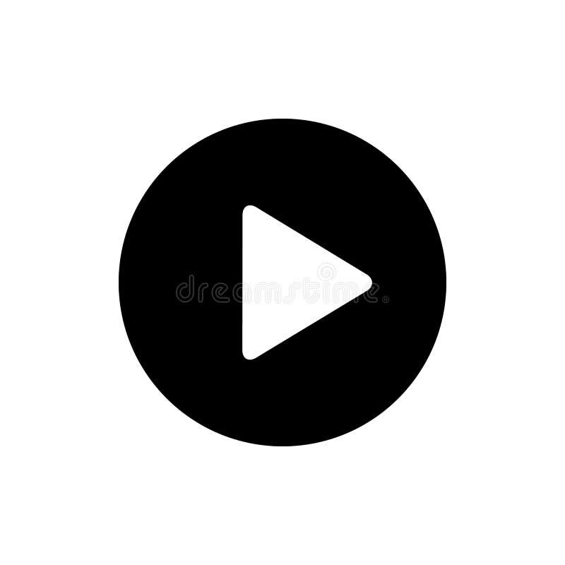 SZTUKI ikona Wideo sztuki ikona Wektorowy sztuka guzik ilustracja wektor