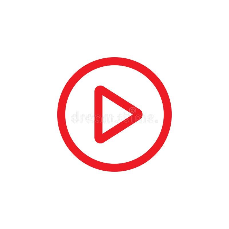 Sztuki ikony graficznego projekta szablonu wideo wektor ilustracji