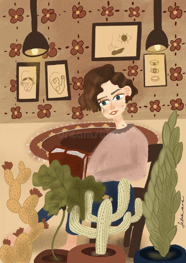 Sztuki ilustracji książek dom ilustracji