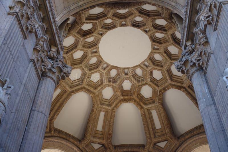 sztuki karać grzywną Francisco pałac San obrazy stock