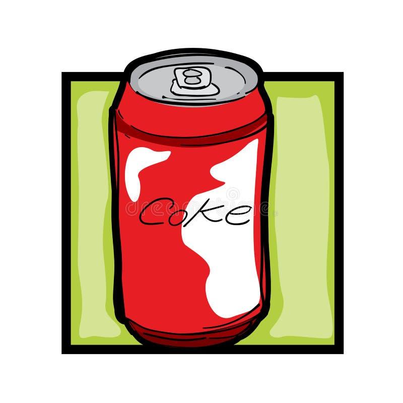 sztuki klamerki soda ilustracja wektor