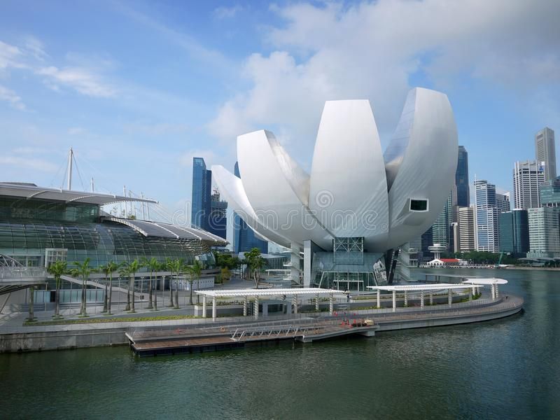 sztuki mbs muzealna nauka Singapore zdjęcia royalty free