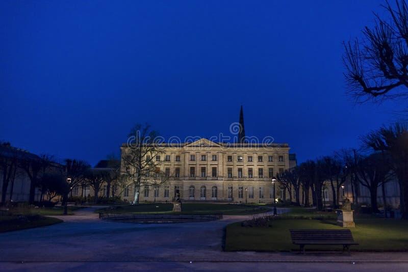 Sztuki muzealne w bordach arony Francja obrazy stock