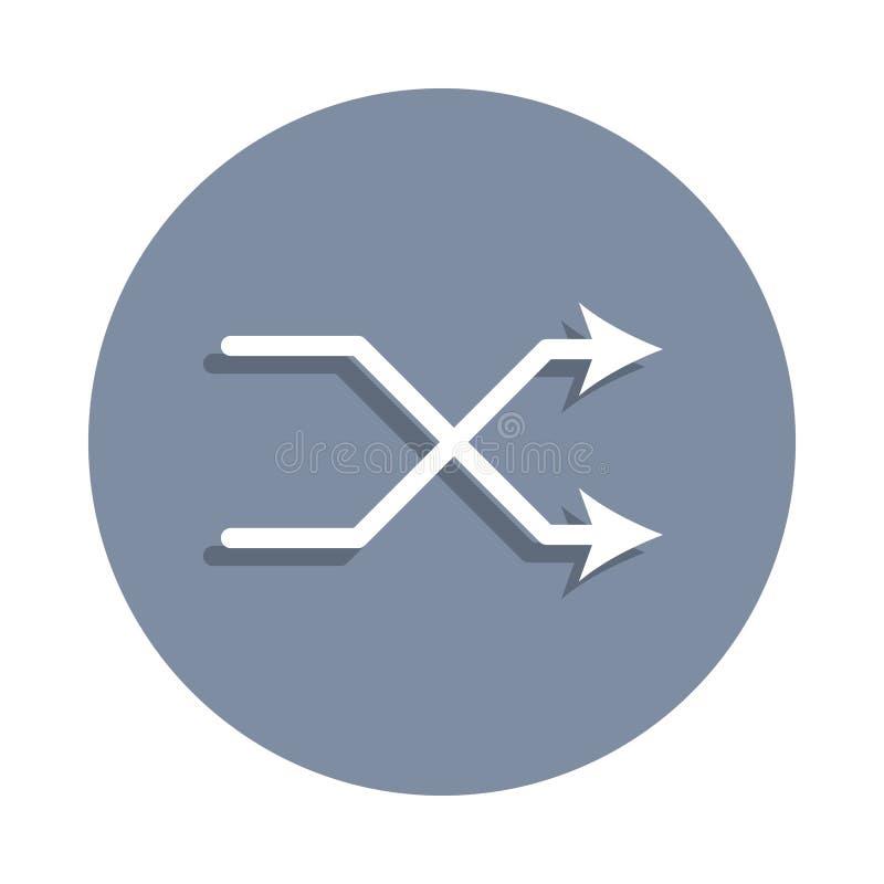 sztuki oceny ikona w odznaka stylu Jeden sieci inkasowa ikona może używać dla UI, UX ilustracja wektor