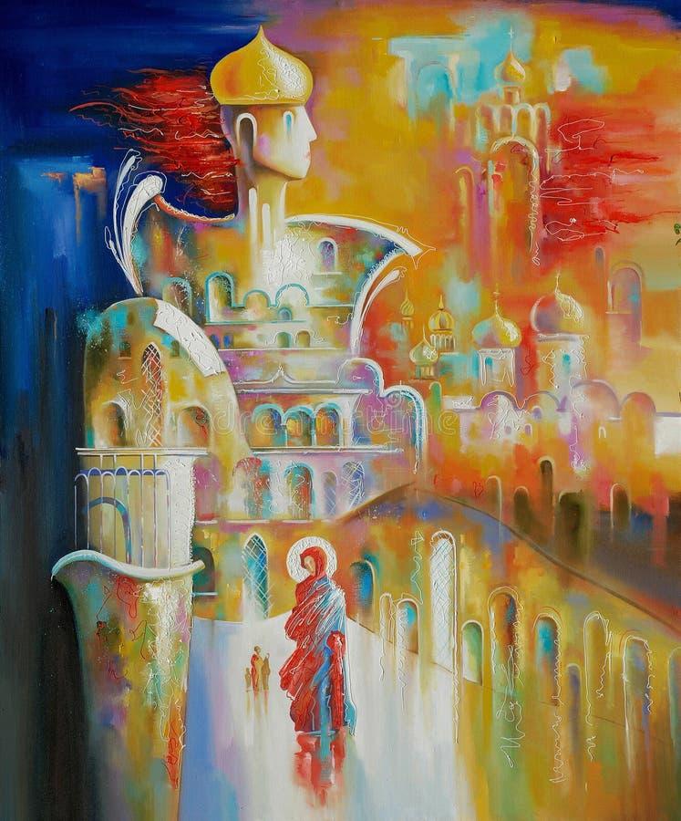 Sztuki praca kościół ortodoksyjny Russia Autor: Nikolay Sivenkov royalty ilustracja