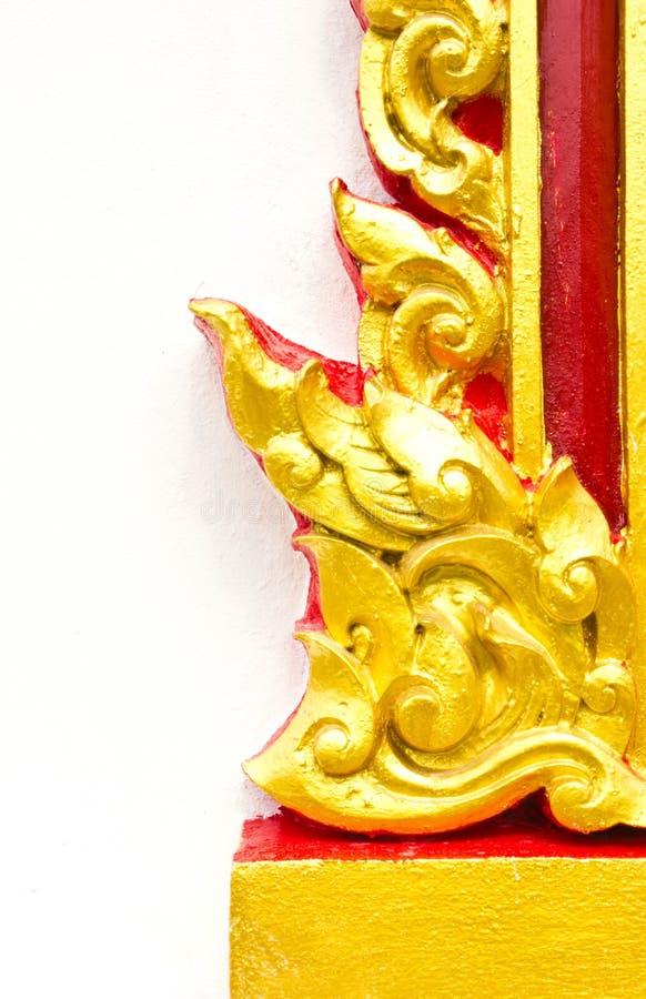 sztuki stylu tekstury tajlandzka ściana zdjęcia royalty free