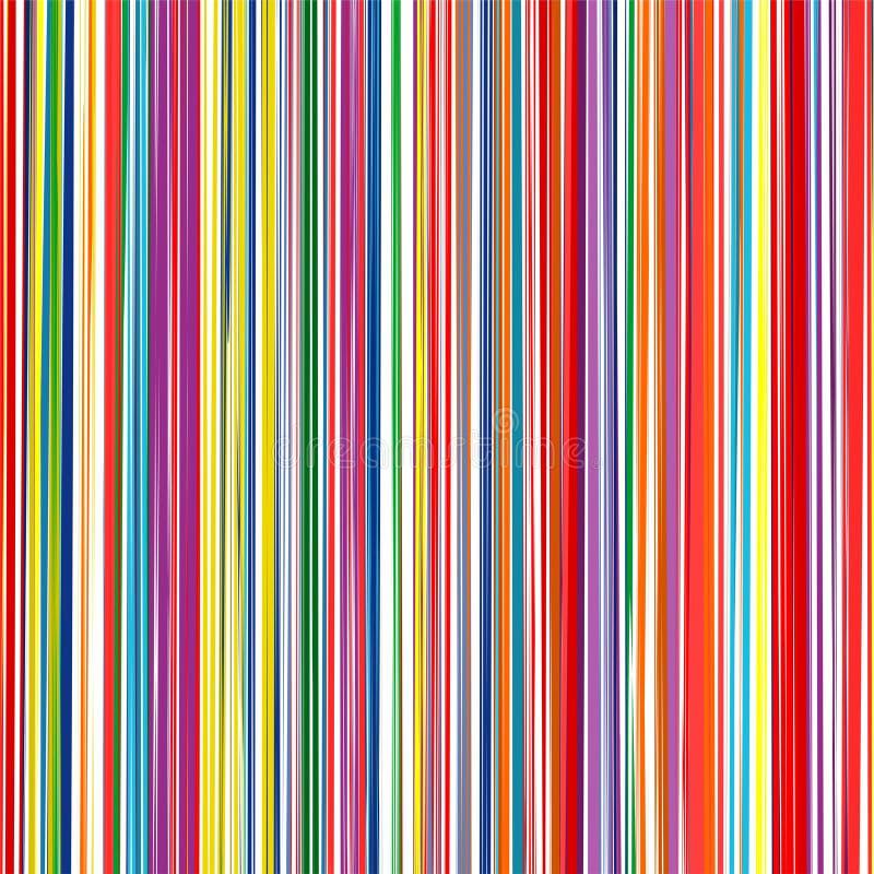 Sztuki tęczy uderzeń wektoru ramy kolorowy szczotkarski set ilustracja wektor