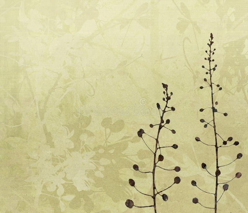 sztuki tła cyfrowy kwiatu obraz royalty ilustracja