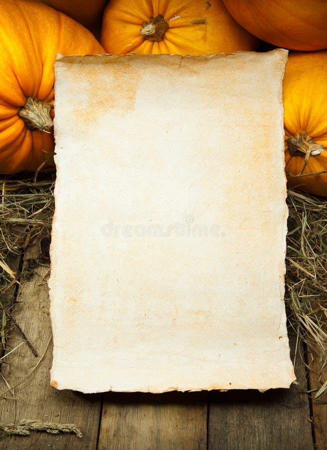 sztuki tła pomarańcze papieru banie drewniane obrazy stock