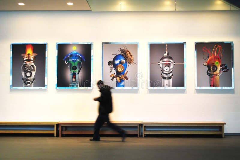 Sztuki wystawa zdjęcia stock