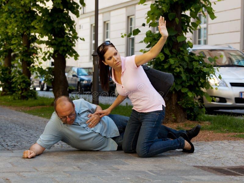 szturmowego dizziness kierowy mężczyzna zdjęcia royalty free