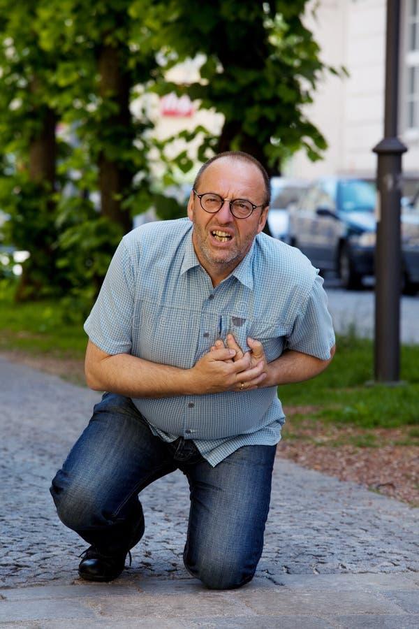 szturmowego dizziness kierowy mężczyzna zdjęcie royalty free