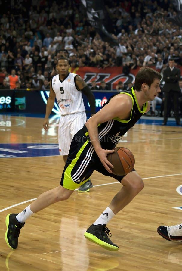szturmowy gracz koszykówki obraz royalty free